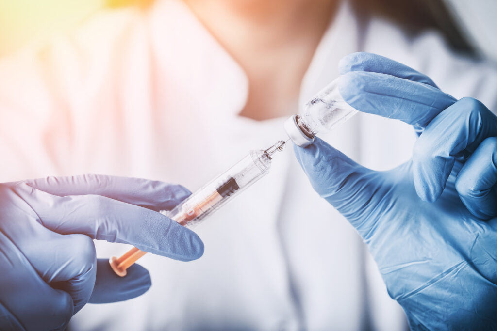 Vaccine injection